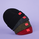 Motivestreet RED WAPPEN SHORT BEANIE