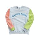 『Motivestreet』カラーエンボポイントスウェットシャツ  (Ash)