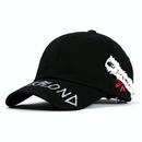【予約発送 2/25】『BLACKBLOND』 Side Patch Graffiti Logo Cap (Black)