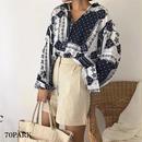 #Paisley Oversized Blouse  ペイズリー柄 ルーズフィット シャツ ブラウス 全3色