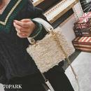 #2way  Square Poodle Fur Bag  スクエア型 プードルファー ショルダー バッグ 全5色