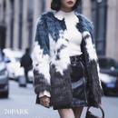 # Gradation Color Fake Fur Coat  グラデーションカラー ファーコート フェイクファー ファージャケット