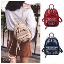 #2way Embroidered Mini Backpack  フラワー 刺繍入り ミニ バックパック 全3色 ショルダー