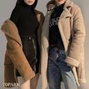 #Faux Mouton Duffle coat フェイク ムートン ダッフル コート 2色 ボア