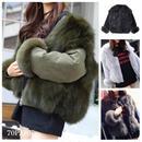 #Reversible  Fur Jacket  リバーシブル 部分ファー ジャケットブルゾン 全4色 エコ ファー コート
