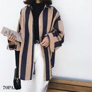 #Oversized Wide Stripe Shirt  太ストライプ オーバーサイズ 長袖 シャツ 全2色