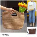 #2way Straw Bag  2way かごバッグ ショルダー  全3色 ハンドバッグ