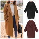 #Double Chester Coat  定番 ダブル チェスター コート 全3色 6サイズ展開  ロングコート