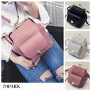 #2way Clasp Bag  がま口 PUレザー ミニ バックパック 全3色 ピンク ショルダーバッグ