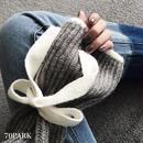 #Bow Sleeve Loose Knit  リボン袖 ハイネック ルーズ ニット 全4色 長袖