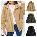 #Oversized Boa Jacket  オーバーサイズ ボア  ジャケット 全3色 ブルゾン