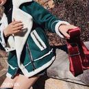 #Mustang Jacket Coat -Dark Green-  ムスタン ジャケット コート ダークグリーン ファー