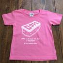 OPPO / KIDS / T-shirt  (pink) *handmade print ver.*