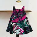 北欧ブランドプリント柄ワンピース Suvi bebe kids dress 1172051  Flower power print