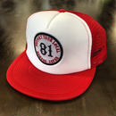 SUPPORT MESH CAP - Red & White