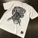 SUPPORT 81 BANDANA SKULL Tee_White