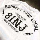 Online 限定カラー SUPPORT T-SHIRTS / 81NJ-R / BL