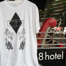 Z-IN-X SUBLIMINAL TETRAGON×8HOTEL 限定コラボTシャツ