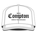 Compton SNAPBACK CAP (WHITE)