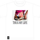 THUG MY LIFE tee (WHITE)