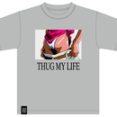 THUG MY LIFE tee (GREY)