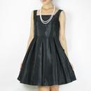 【新古品】シャンタンバックリボンAラインドレス_0111222