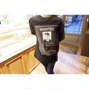 unisexバックプリントTシャツ