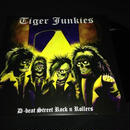 "Tiger Junkies ""D-beat street rock'n rollers"" LP Limited Black vinyl"
