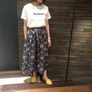 ボタニカル柄スカート