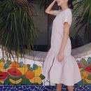 Feel the nuance Dress - DUSTY PINK