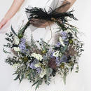 wreathe bouquet + boutonniere...2 items set.F