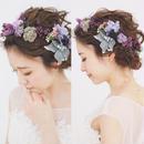 【CLASSY.wedding 掲載】floret〜classic purple〜