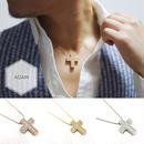 Cross  Geometry necklace