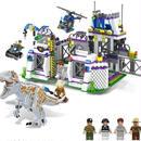 【新品】レゴ互換品 LEGO互換 ティラノレックス インドミナスレックス 襲撃 ベースライン エスケープ 826p ジュラシックワールド 恐竜