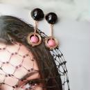 black × pink circlpierce