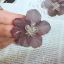 see-through flower pierce