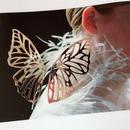 butterfly metallic pierce
