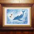 ポストカード イルカの海