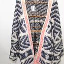 Native knit cardigan