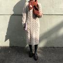【 1/3~再入荷 】cable knit dress