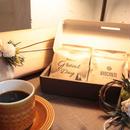 [Flower&Coffee SET]BOX入/メッセージドリップバック12個(3種)+ミニリースorミニコサージュ