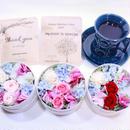 母の日[Flower & Coffee SET]Box S+メッセージドリップバック2種