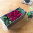 [Flower Box Ssize]パウンド型(RED)/プリザーブドフラワー