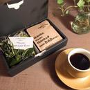 父の日[Green & Coffee SET]モスアレンジ+メッセージドリップバック5個