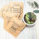 父の日[Coffee & Flower SET]珈琲豆のBoxアレンジ+メッセージドリップバック2種5個