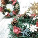 Xmas[ミニリース]繋がるクリスマスリース(1個)