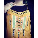 インディアン刺繍キャミソールチュニック