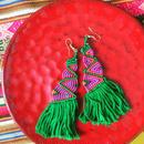 カラフル民族ピアス