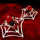 赤い蜘蛛のピアス【Marcos Yagüe マルコス・ジャグエ】marcos2596
