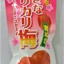 甘酸っぱい大きなカリカリ梅 種ぬき3個×10袋